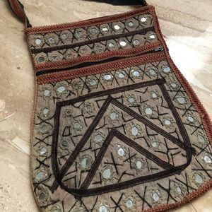 Afghani Purse with detail